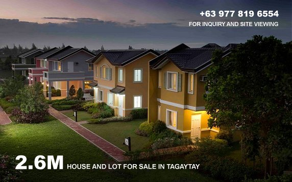 Camella Silang-Tagaytay Location and Amenities