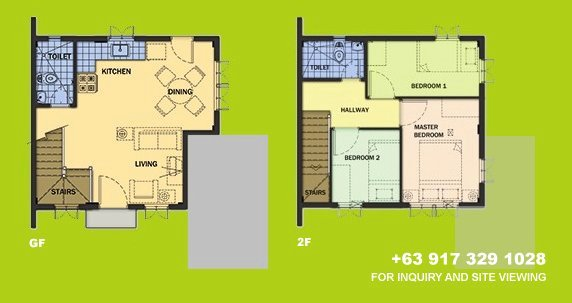 Carmela Floor Plan House and Lot in Tagaytay