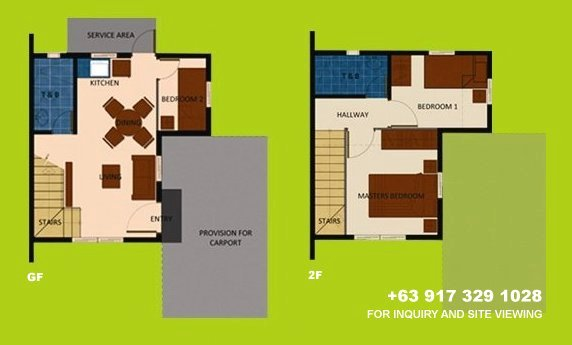 Mara Floor Plan House and Lot in Tagaytay